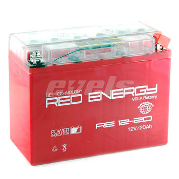 Red Energy RE12-20 (YTX24HL-BS 20А/ч) зал.